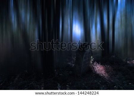 Nightmare - stock photo