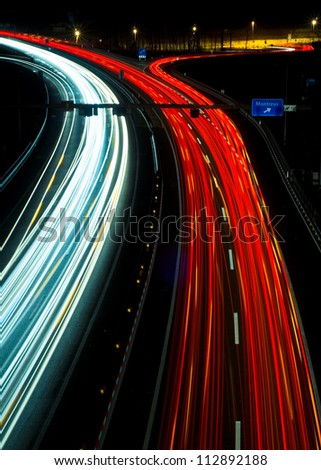 Nightride - stock photo