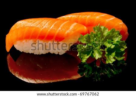 Nigiri sushi - stock photo