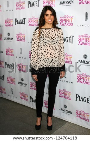Nikki Reed at the 2013 Film Independent Filmmaker Grant And Spirit Award Nominees Brunch, BOA, West Hollywod, CA 01-12-13