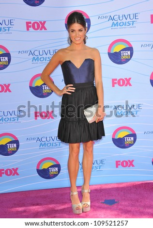 Nikki Reed at the 2012 Teen Choice Awards at the Gibson Amphitheatre, Universal City. July 23, 2012  Los Angeles, CA Picture: Paul Smith / Featureflash