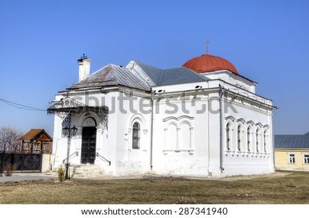 Nikola Gostiny's church (Nikolskaya). Kolomna, Russia - stock photo