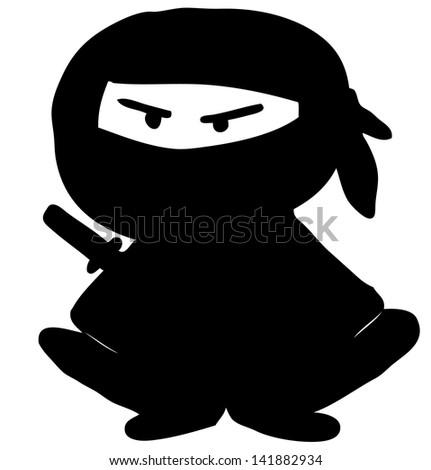 Ninja - stock photo