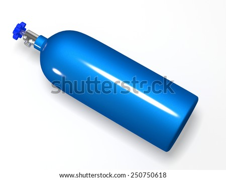 nitrous oxide - stock photo