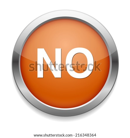 No buttons - stock photo