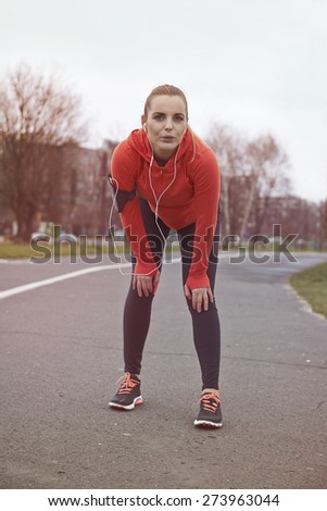 No pain no gain! Stop to excuse! - stock photo