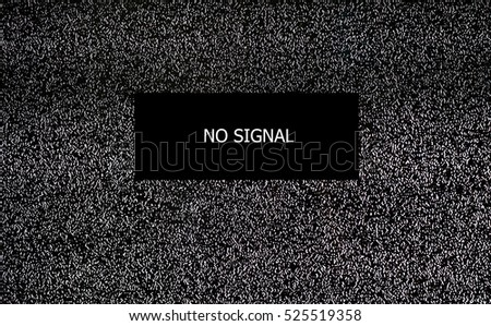 No signal TV, Seamless texture with television grainy noise effect for background.