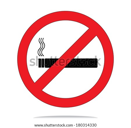 No smoke sign.