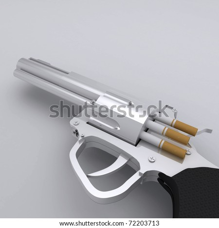 No Smoking Gun with Cigarette Bullets