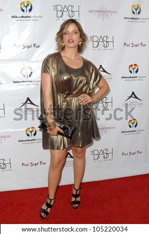 Noa Tishby at 'The Bash' a Benefit for Children's Hospital Los Angeles. Crustacean, Beverly Hills, CA. 05-17-09