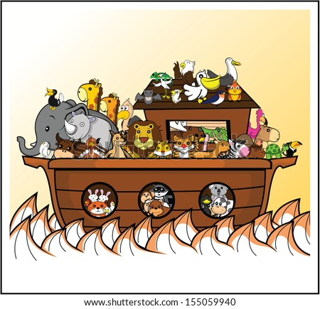 noah ark  - stock photo