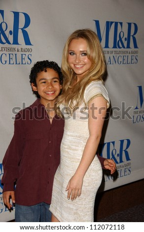 "Noah Gray-Cabey and Hayden Panettiere at the 24th Annual William S. Paley Television Festival Featuring ""Heroes"" presented by the Museum of Television and Radio. DGA, Beverly Hills, CA. 03-10-07"