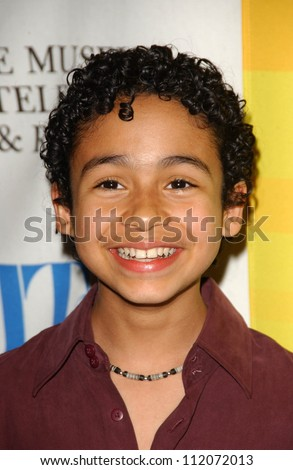 "Noah Gray-Cabey at the 24th Annual William S. Paley Television Festival Featuring ""Heroes"" presented by the Museum of Television and Radio. DGA, Beverly Hills, CA. 03-10-07"