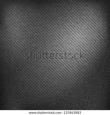 Noise effect grainy texture with corner highlight on black and dark gray background. Seamless pattern metal vintage grunge surface. Template size square format. Bitmap copy my vector illustration