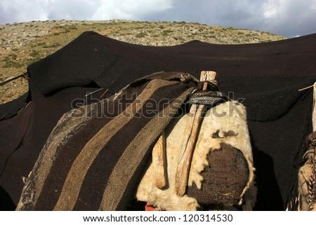 Nomad Tent - stock photo