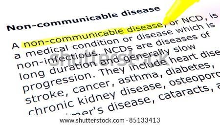 Non-infectious Disease