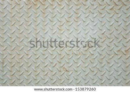 non slip metal surface - stock photo