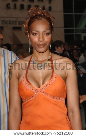 NONA GAYE at the Los Angeles premiere of movie Hustle & Flow at the Cinerama Dome, Hollywood. July 20, 2005  Los Angeles, CA  2005 Paul Smith / Featureflash