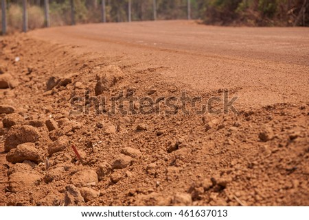 Nong Khai, Thailand, dirt roads, rural tourism.