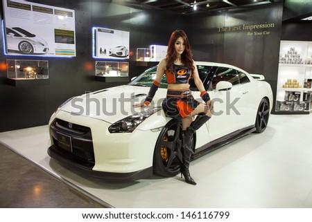 NONTHABURI THAILAND JUNE 20 : Toyota 86 Modified By Hi Mohs Coat At Bangkok