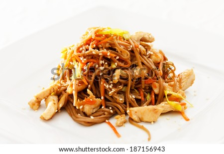 noodle with chicken