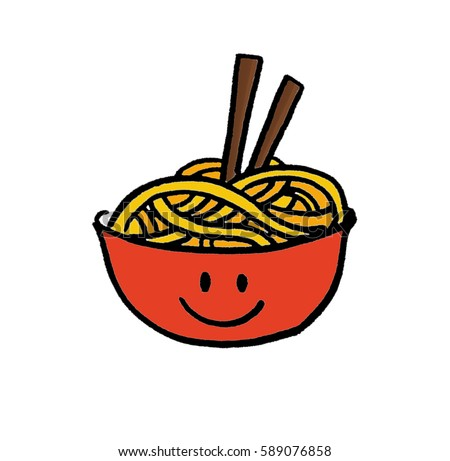 noodles cartoon stock illustration 589076858 shutterstock cereal bowl clipart cereal images clip art