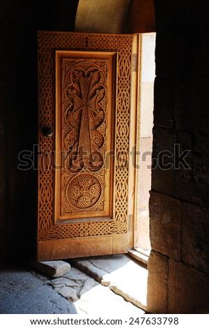 Noravank Monastery , Vayots Dzor Province, Armenia - stock photo