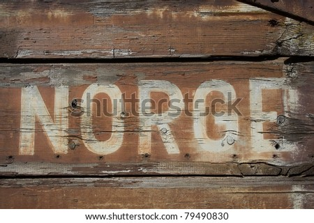 Norge - stock photo