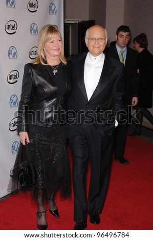 NORMAN LEAR & wife at the 2006 Producers Guild Awards at the Universal Hilton Hotel. January 22, 2006  Los Angeles, CA  2006 Paul Smith / Featureflash