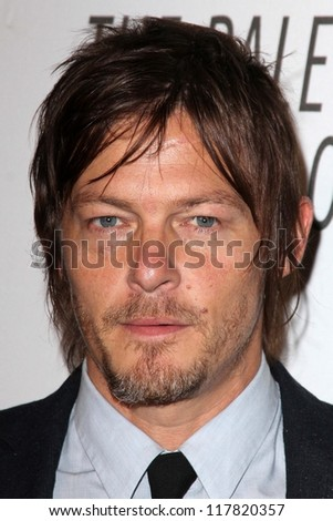 Norman Reedus at the Paley Center Annual Los Angeles Benefit, The Lot, West Hollywood, CA 10-22-12