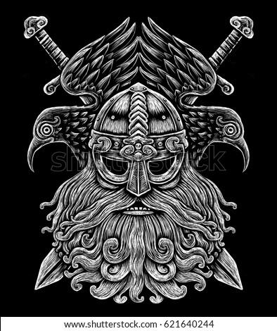 Huggin And Muninn Odins Eye Tattoo Designs