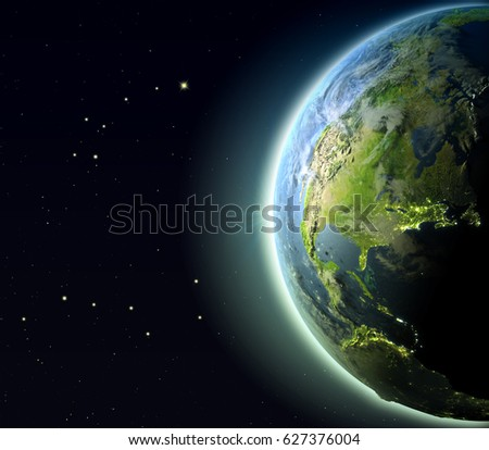 Earth Atmosphere Stock Images, Royalty-Free Images ...