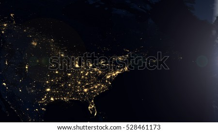 North america night lights world map stock illustration 528461173 north america night lights world map composition elements of this image furnished by nasa gumiabroncs Image collections