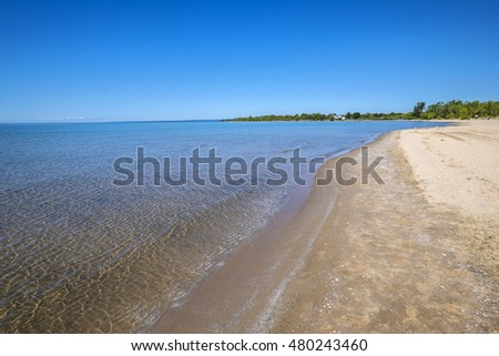 North Beach Provincial Park Situated by Lake Ontario