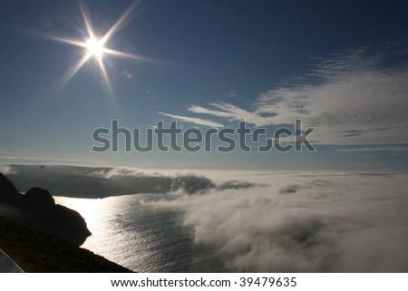 north cape, nordkapp, norway - stock photo