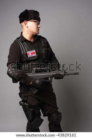 North Korean Commando