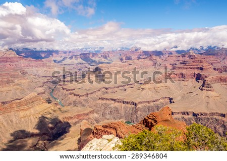 North Rim of Grand Canyon - View from Mohave point
