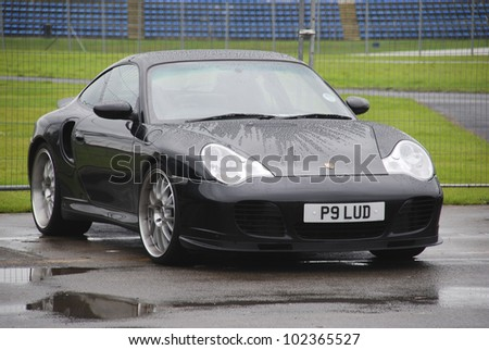 NORTHAMPTON, ENGLAND - SEPTEMBER 7: Porsche Carrera on September 7, 2008 in Northampton, England, UK. Silverstone Race Circuit is Host to Annual Trax Automotive Show