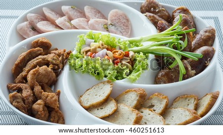 Northeast food /Isan food