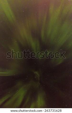 Northern Lights - stock photo