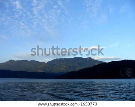 Northern Mountains - stock photo