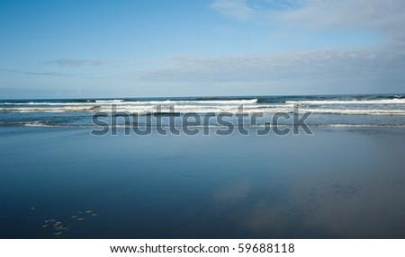 Northwest Beach, Long Beach , WA - stock photo