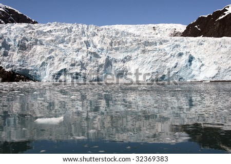 Northwestern Glacier near Seward, Alaska
