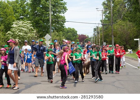 "Norwalk, CT, USA - May 24th, 2015: The individuals are some of the many participants at the ""Memorial Day Parade"" held in the city of Norwalk, Connecticut, on May 24th, 2015"