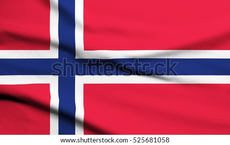 Norway Flag Waving