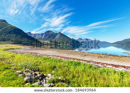 Norway landscapes - stock photo