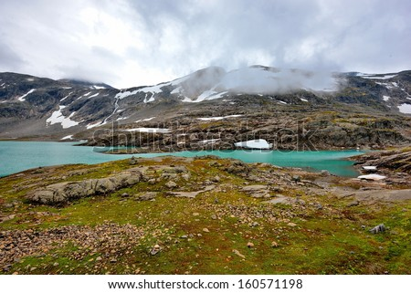 Norway, stunning landscape - stock photo