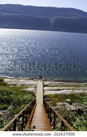 Norway view - stock photo