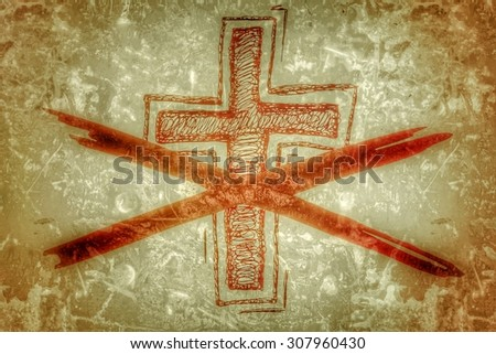 not religious - stock photo