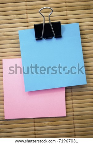 note - stock photo